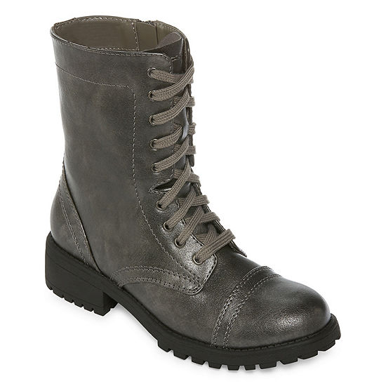159f768385d Clearance. Promotional Banner. 242 viewed in last 24 hours. Arizona Womens  Jones Combat Block Heel Zip Boots