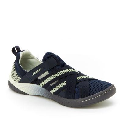 J Sport By Jambu Womens Essex Slip-On Shoe Closed Toe