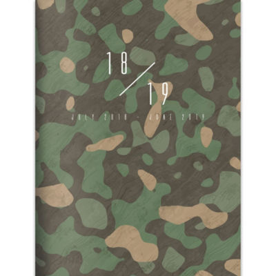 July 2018 - June 2019  Camo Monthly Planner