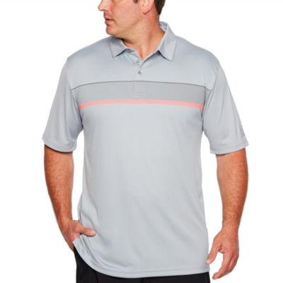 PGA TOUR Easy Care Short Sleeve Stripe Polo Shirt Big and Tall