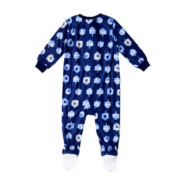 Holiday Famjams Hanukkah 1 Piece Footed Pajama – Baby Unisex