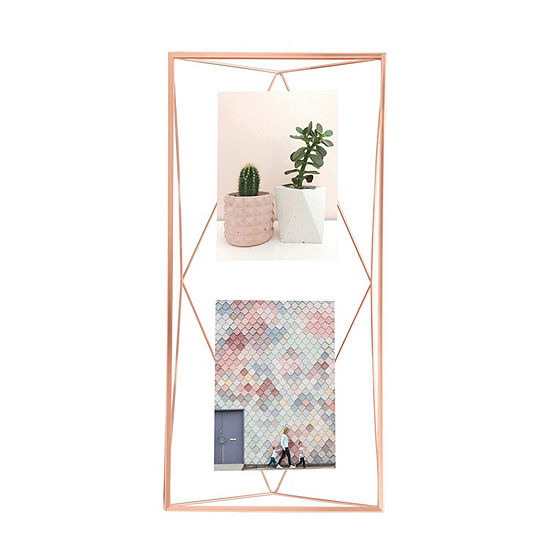 Umbra Prisma Photo Display 3 Openings Copper 3-Opening Tabletop Frame