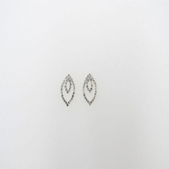 Vieste Rosa 1 Inch Stud Earrings