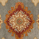 Safavieh Heritage Collection Lavone Oriental Square Area Rug