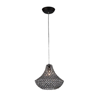 Warehouse Of Tiffany Hannah 1-light Antique 12-inch Pendant Lamp