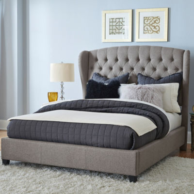 Bromley Button-Tufted Upholstered Platform Bed