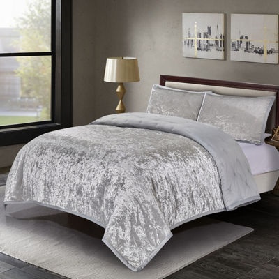 Wonder Home Mystique 3-pc. Polyester Velvet Quilt set