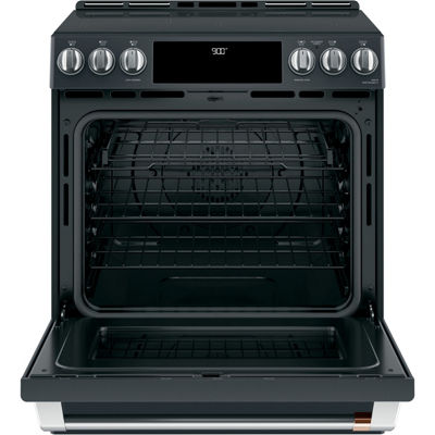 "Café™ 30"" Slide-In Front Control Induction and Convection Range with Warming Drawer"