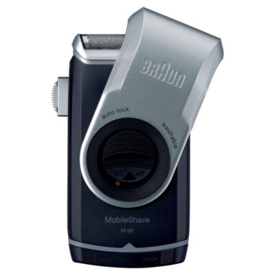 Braun Mobile Wet Dry Shaver Blue