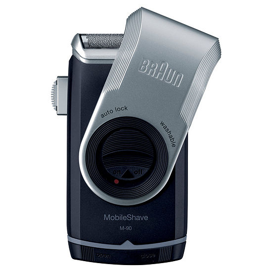 Braun Mobile Wet Dry Shaver Blue