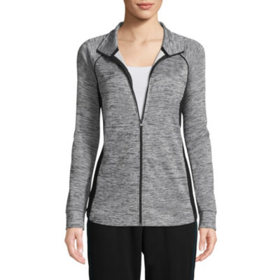 St. John's Bay Active Knit Midweight Track Jacket