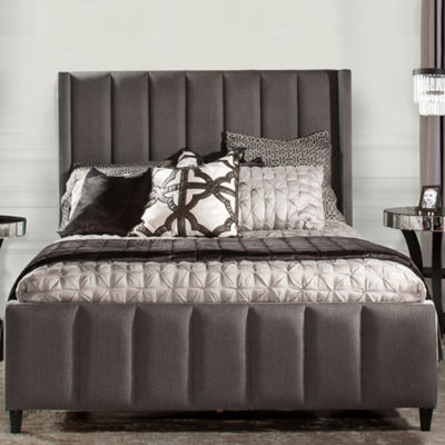 Concord Channel Tufted Tweed Bed