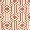 Safavieh Courtyard Collection Dorothy Geometric Indoor/Outdoor Area Rug