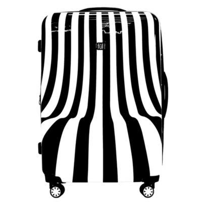 Ful White Swirl 28 Inch Hardside Lightweight Luggage