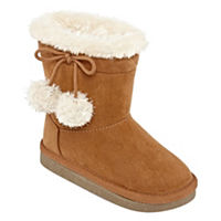 Okie Dokie Girls Lil Zenith Winter Boots Pull-on (Cognac/Black)