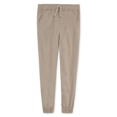 Izod Boys Stretch Twill Jogger Pant-Reg and Husky 8-20