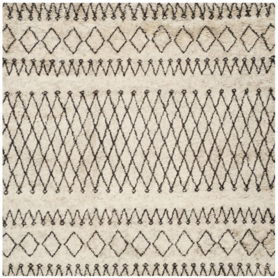 Safavieh Casablanca Collection Stephanie GeometricSquare Area Rug