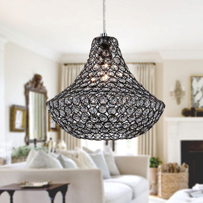 Warehouse Of Tiffany Hannah 1-light Antique 12-inch Pendant Lamp