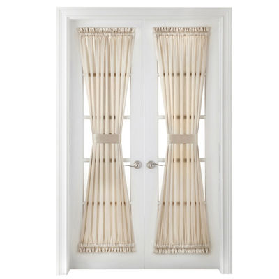 JCPenney Home Hilton Rod-Pocket Door Panel Curtain