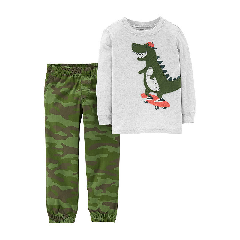 Carters 2-pack Camouflage Pant Set Baby, Boys, Camo, Size 6 Months