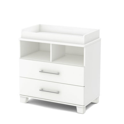 Cuddly Changing Table with Removable Changing Station
