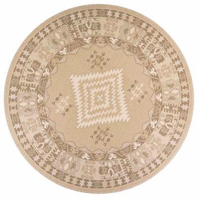 Kas Navaho Round Rugs