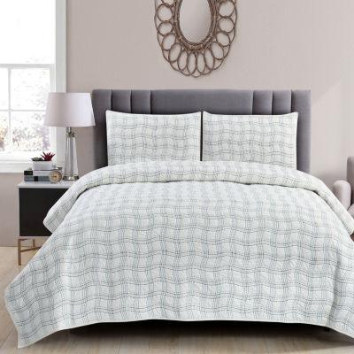 Wonder Home Sebastian 3-pc. Cotton Quilt set