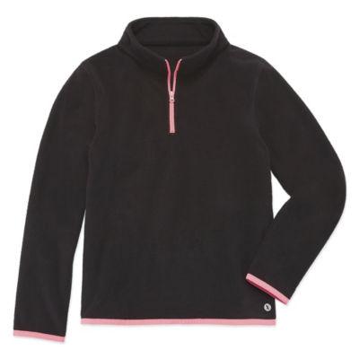 Xersion Quarter Zip Polar Fleece Pullover - Girls' 4-16 & Plus