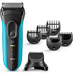 Braun Series 3 Rechargeable Electric Foil  Shaver 3 In 1 Shave And Style