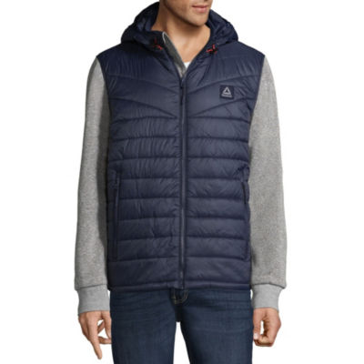 Men's Reebok Quilted Puffer Fleece Jacket