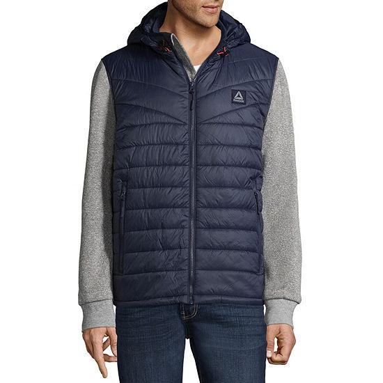 Men's Reebok Quilted Puffer Fleece Jacket