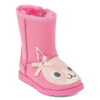 Okie Dokie Girls Bing Winter Pull-on Boots