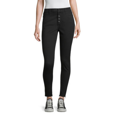 Peyton & Parker Womens High Waisted Skinny Fit Jean