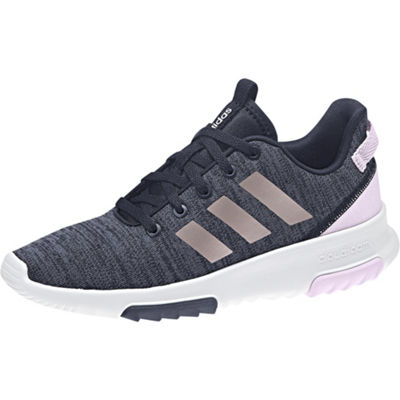 adidas Cloudfoam  Racer Tr K Big Kids Girls Running Shoes Lace-up