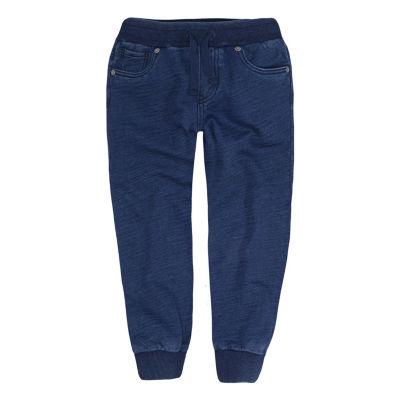 Levi's Indigo Jogger French Terry Jogger Pants - Preschool Boys