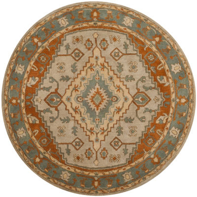 Safavieh Heritage Collection Faris Oriental RoundArea Rug