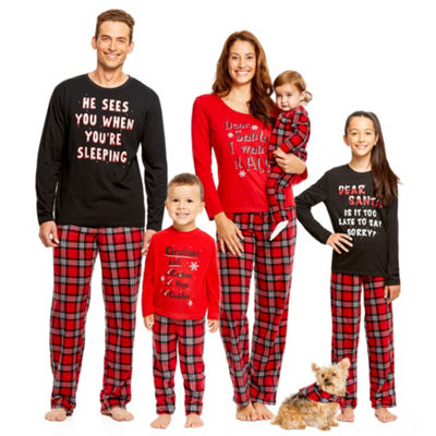 Holiday FAMJAMS Santa Family Pajamas