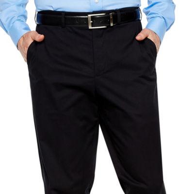 Magnaclick Classic Fit Flat Front Pants