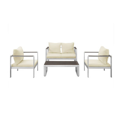 Mod Style 4-pc. Chat Set with Cushions