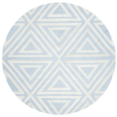 Safavieh Kids Collection Elijah Geometric Round Area Rug