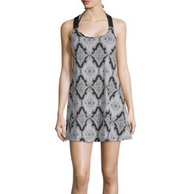 Porto Cruz Diamond Swimsuit Cover-Up Dress