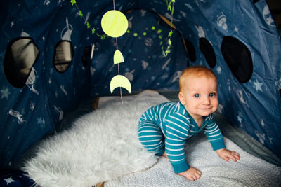 Pacific Play Tents Glow In The Dark Space Capsule