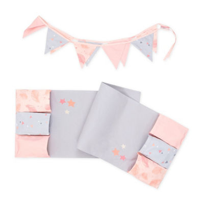 DreamIt Doudou The Rabbit Changing Table Runner and Pennant Banner