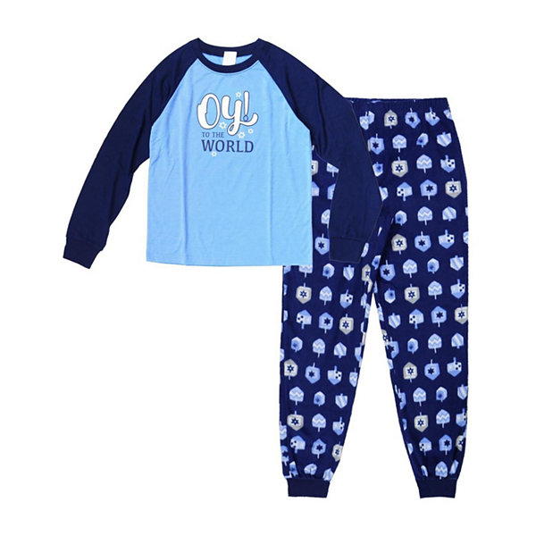 Holiday Famjams Hanukkah 2 Piece Pajama Set - Boy's