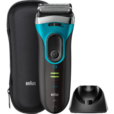 Braun Series 3 ProSkin Men's Electric Foil Shaver Blue Black