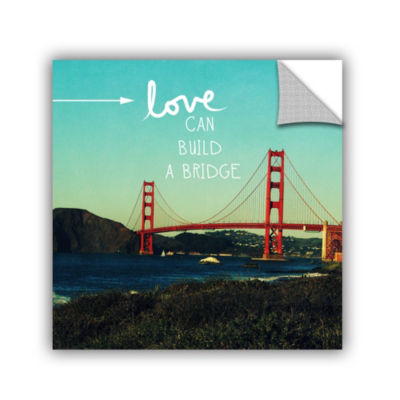 Love Can Build Removable Wall Decal