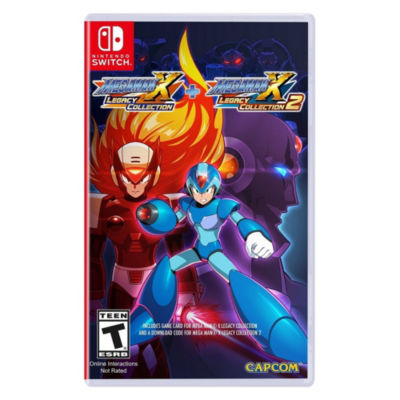 Nintendo Switch Mega Man X: Legacy Collection 1 & 2 Video Game