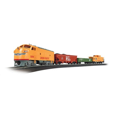 Bachmann Trains Challenger Ready To Run  Electric Train Set - Ho Scale