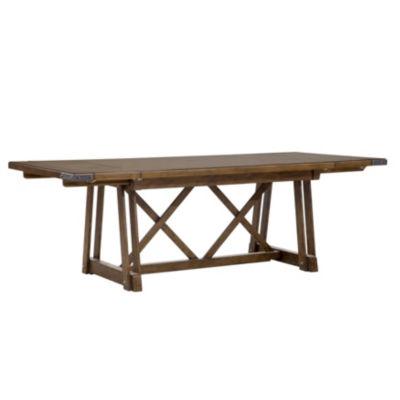 Weston Rectangular Wood-Top Dining Table