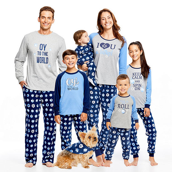 6c41333cff86 Holiday FAMJAMS Hanukkah Family Pajamas - JCPenney